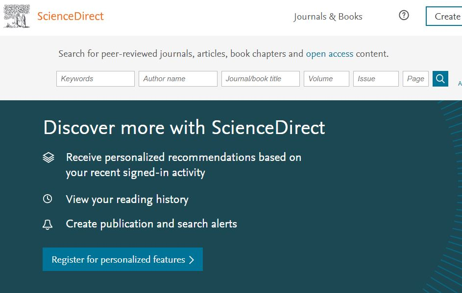 cara download jurnal science direct